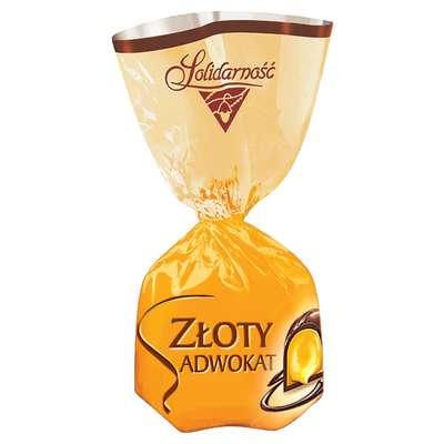 Шоколадные ликерные конфеты Золотой Адвокат Solidarnosc 1 кг, фото 2
