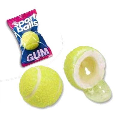 Жевательная резинка с начинкой лимон лайм Теннисные мячики Fini 5 гр x 200 шт, фото 2