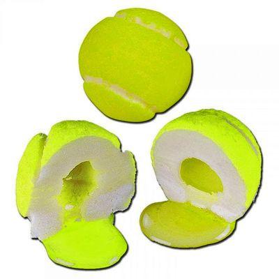 Жевательная резинка с начиной лимон-лайм Теннисные мячики Гигант Fini 20 гр x 75 шт, фото 2