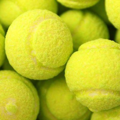 Жевательная резинка с начиной лимон-лайм Теннисные мячики Гигант Fini 20 гр x 75 шт, фото 3