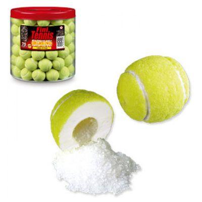 Жевательная резинка с начиной лимон-лайм Теннисные мячики Гигант Fini 20 гр x 75 шт, фото 1