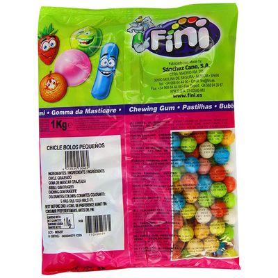 Жевательная резинка Футбольные мячики кислые Fini 1 кг, фото 2