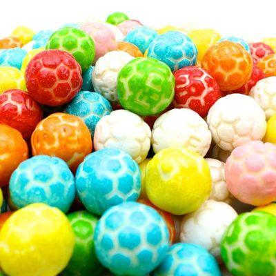 Жевательная резинка Футбольные мячики кислые Fini 1 кг, фото 3