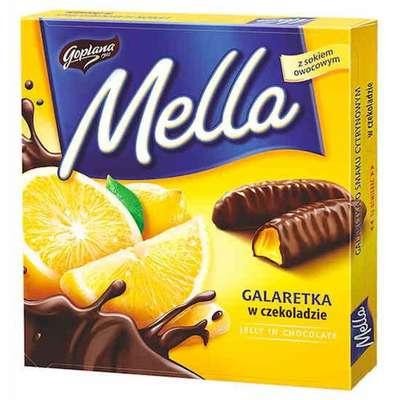 Мармелад в шоколаде Лимон Mella Goplana 190 гр, фото 1