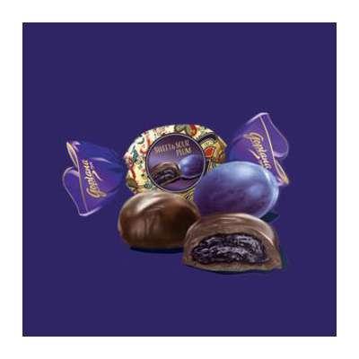 Шоколадные конфеты слива в шоколаде Sweet and Sour Plum Goplana 190 гр, фото 2