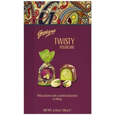 Коробка конфет с начинкой Twisty Pistachio Goplana 186 гр, фото 1