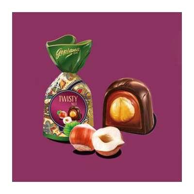 Коробка шоколадных конфет Twisty Nut Goplana 186 гр, фото 2