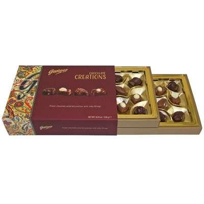 Коробка шоколадных конфет ассорти Шоколадное Очарование Chocolate Creations Goplana 228 гр, фото 1