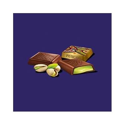 Коробка конфет с начинкой фисташка Squares Pistachio Goplana 200 гр, фото 2