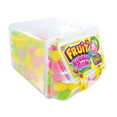 Жевательная резинка с кислой пудрой Fruit Bubble Gum Johny Bee 6 гр x 300 шт, фото 1