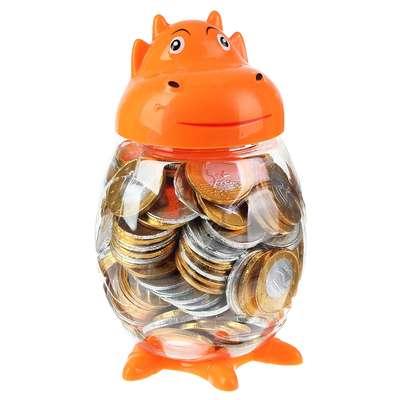 Шоколадные монеты Euro Choco Dino Johny Bee 5,4 гр, фото 1