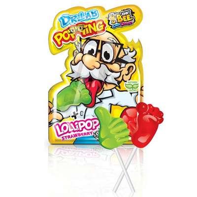 Леденец на палочке и кислая пудра Dr.Lab Popping Lollipop Johny Bee 13 гр, фото 3