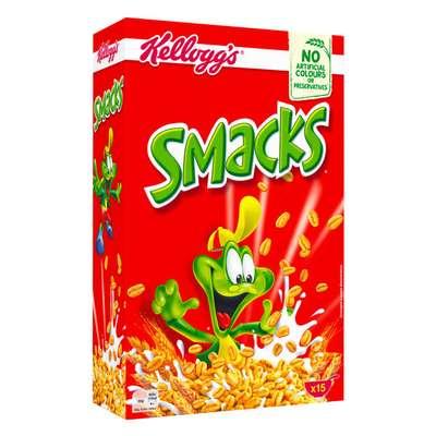 Сухой завтрак хлопья Smacks Kelloggs 375 гр, фото 2