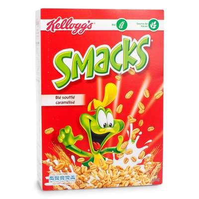 Сухой завтрак хлопья Smacks Kelloggs 375 гр, фото 1