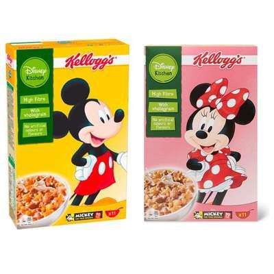 Сухие завтраки в ассортименте Variety Disney Mix Kelloggs 350 гр, фото 1