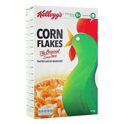 Сухой завтрак кукурузные хлопья Corn Flakes Kelloggs 360 гр, фото 1