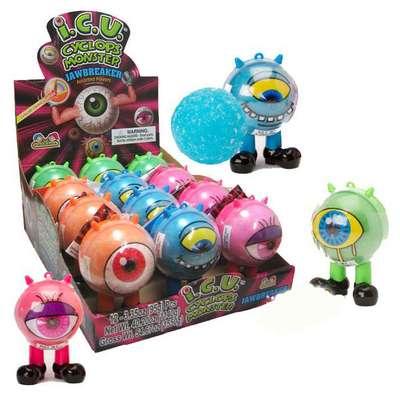 Жевательные конфеты с кислым порошком Cyclops Monster Kidsmania 95 гр, фото 4