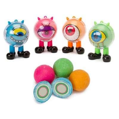 Жевательные конфеты с кислым порошком Cyclops Monster Kidsmania 95 гр, фото 6