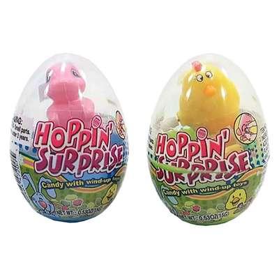 Сюрприз в яйце Игрушка и конфеты Hoppin Surprise Kidsmania 15 гр, фото 3