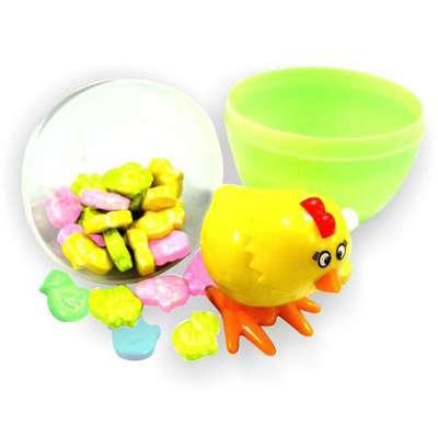 Сюрприз в яйце Игрушка и конфеты Hoppin Surprise Kidsmania 15 гр, фото 1