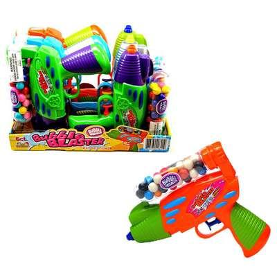 Бластер и жевательная резинка Bubble Blaster Kidsmania 36 гр, фото 4