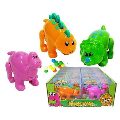 Игрушка Динозаврик и конфеты Dino Doo mini Kidsmania 9 гр, фото 1