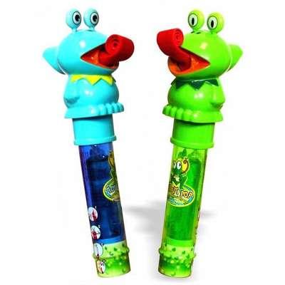 Лягушка Леденец и свисток пищалка Ribbit Pop Kidsmania 11 гр, фото 3