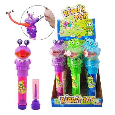 Лягушка Леденец и свисток пищалка Ribbit Pop Kidsmania 11 гр, фото 1