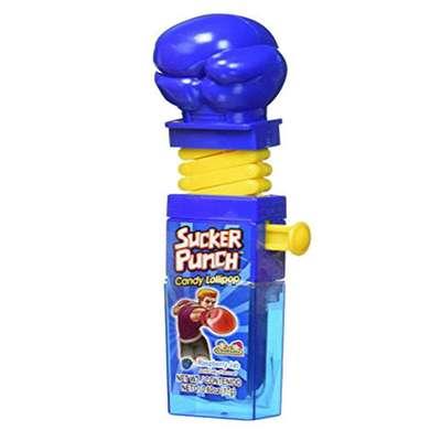 Боксерские Перчатки Леденец с фруктовым вкусом Sucker Punch Kidsmania 12 гр, фото 7