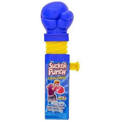Боксерские Перчатки Леденец с фруктовым вкусом Sucker Punch Kidsmania 12 гр, фото 8