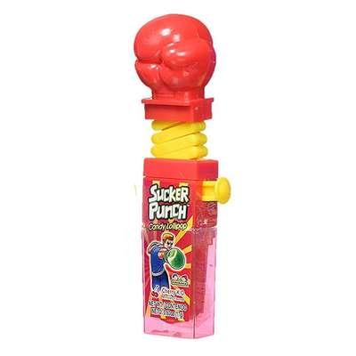 Боксерские Перчатки Леденец с фруктовым вкусом Sucker Punch Kidsmania 12 гр, фото 5