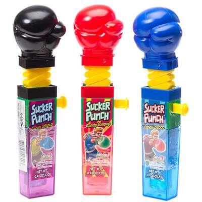 Боксерские Перчатки Леденец с фруктовым вкусом Sucker Punch Kidsmania 12 гр, фото 6