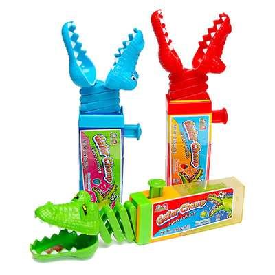 Крокодил Леденец и игрушка Gator Chomp Kidsmania 17 гр, фото 4