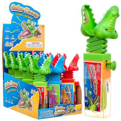 Крокодил Леденец и игрушка Gator Chomp Kidsmania 17 гр, фото 2
