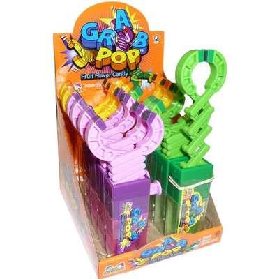 Игрушка захват и леденец с фруктовым вкусом Grab Pop Kidsmania 17 гр, фото 2