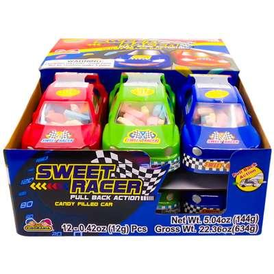 Гоночная машинка и конфеты Sweet Racer Kidsmania 12 гр, фото 2