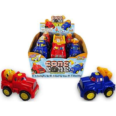 Строительные машины и конфеты Cone Zone Kidsmania 6 гр, фото 4
