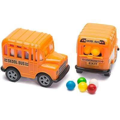 Школьный автобус и разноцветные конфеты Skool Bus Kidsmania 15 гр, фото 1