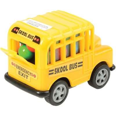 Школьный автобус и разноцветные конфеты Skool Bus Kidsmania 15 гр, фото 2