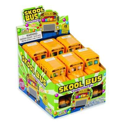 Школьный автобус и разноцветные конфеты Skool Bus Kidsmania 15 гр, фото 3