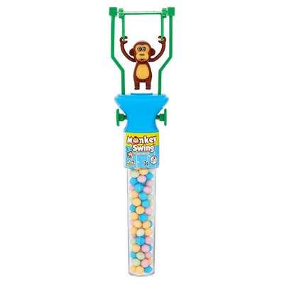 Игрушка Обезьянка акробат и конфеты Monkey Swing Kidsmania 13 гр, фото 3
