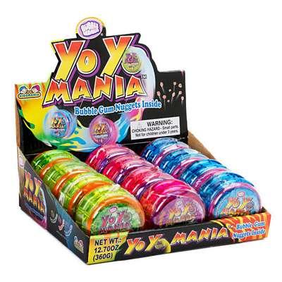 Игрушка Йо-Йо и жевательная резинка Yo Yo Mania Kidsmania 30 гр, фото 4