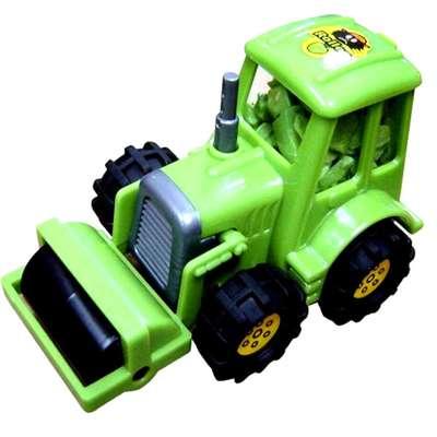 Игрушка Трактор и жевательная резинка Bubble Dozer Kidsmania 7 гр, фото 2