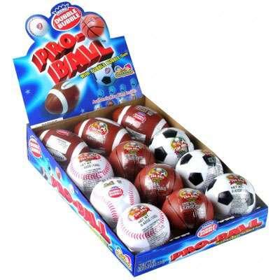 Жевательная резинка и стикеры Pro-Ball Dubble Bubble 12 гр, фото 1