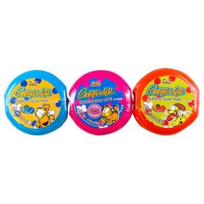 Жевательная резинка Garfield Bubble Gum Tape Roll Kidsmania 58 гр, фото 2