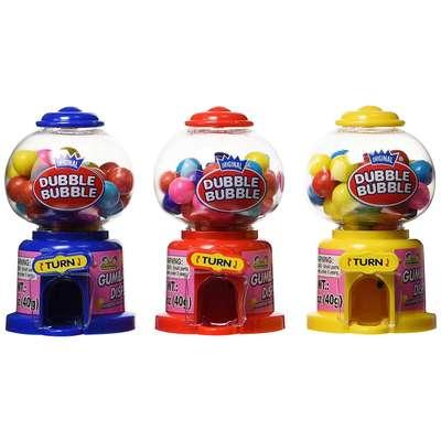 Жевательная резинка Gumball Dispenser Dubble Bubble Kidsmania 40 гр, фото 1