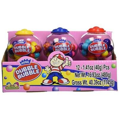 Жевательная резинка Gumball Dispenser Dubble Bubble Kidsmania 40 гр, фото 2