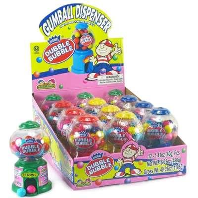Жевательная резинка Gumball Dispenser Dubble Bubble Kidsmania 40 гр, фото 3