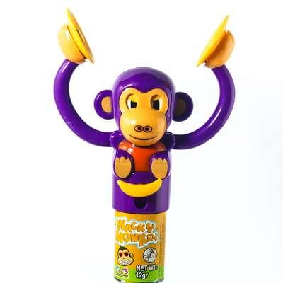 Обезьянка с тарелками и конфетами Wacky Monkey Kidsmania 12 гр, фото 2