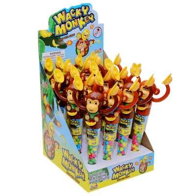 Обезьянка с тарелками и конфетами Wacky Monkey Kidsmania 12 гр, фото 3